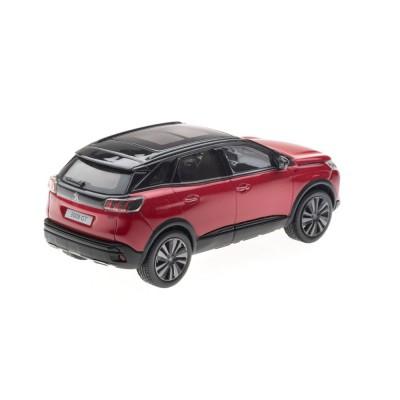 Model Peugeot 3008 GT SUV (P84) 2020 červená Ultimate 1:43