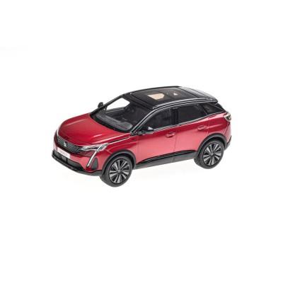 Model Peugeot 3008 GT SUV (P84) 2020 red Ultimate 1:43
