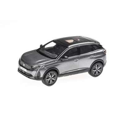 Model Peugeot 3008 GT SUV (P84) 2020 grey Platinium 1:43