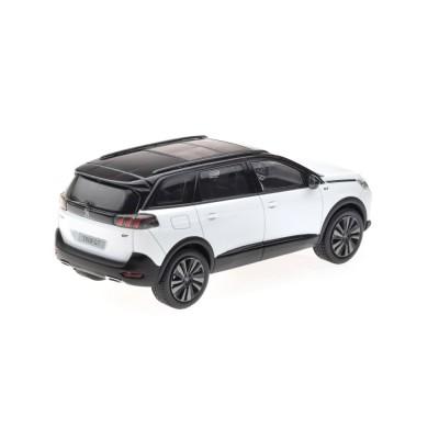 Model Peugeot 5008 GT SUV (P87) 2020 weiß Nacré 1:43