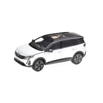 Modelo Peugeot 5008 GT SUV (P87) 2020 blanco Nacré 1:43