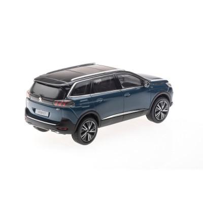 Model Peugeot 5008 GT SUV (P87) 2020 modrá Celebes 1:43
