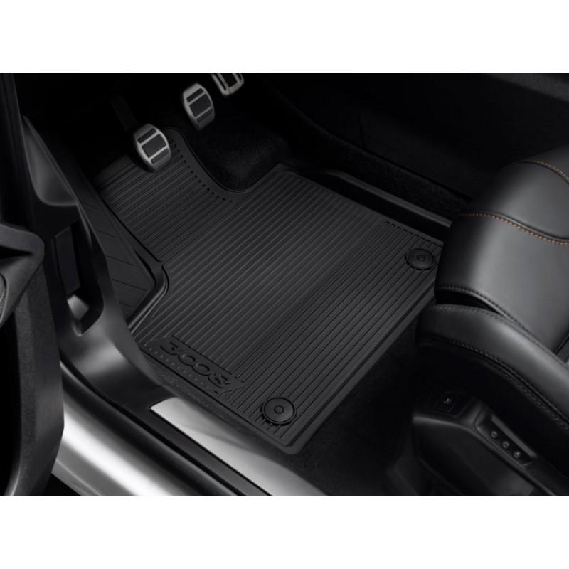 Set of rubber floor mats Peugeot 3008 HYBRID, HYBRID4 SUV (P84)