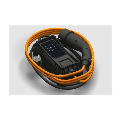 Nabíjací kábel režimu 2, zosilnený typ EF, 6 m