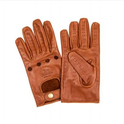 Mens leather driving gloves Peugeot LEGEND