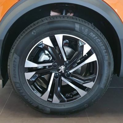 "Alloy wheel SALAMANCA 17"" Peugeot 2008 (P24)"