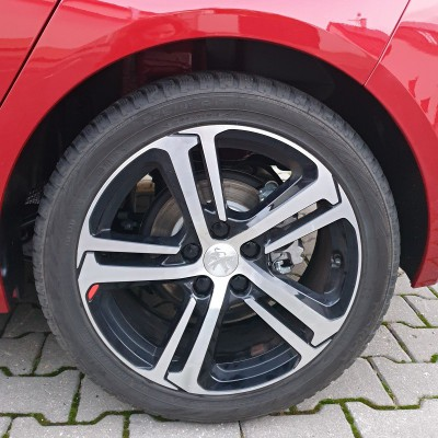 """Hliníkové kolo Peugeot LIGNE S 17"""" - Nová 308 (T9)"""