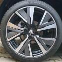 Inserto decorativo per cerchio in lega CAMDEN Peugeot 208 (P21) - GRIGIO STORM