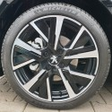 Dekoratívne vložka alu disku JORDAAN Peugeot 208 (P21) - ČIERNA ONYX