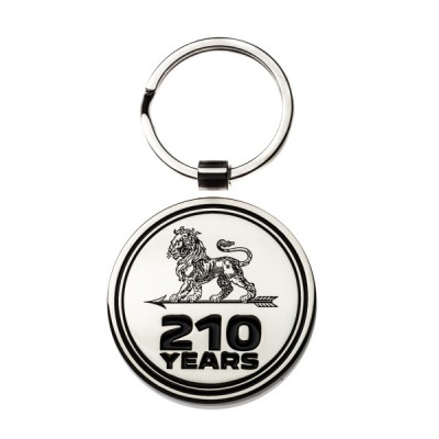 Keyring Peugeot SILVER 210 YEARS