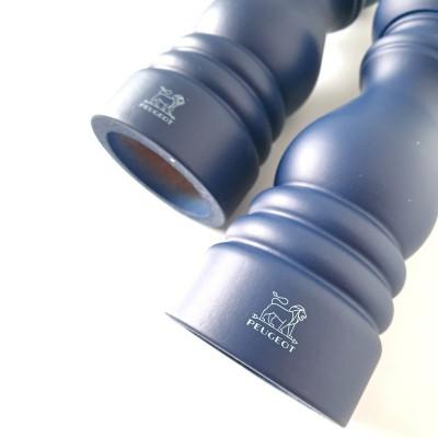 Peugeot PARIS Gift Set Pepper and Salt Mill - blue 18 cm
