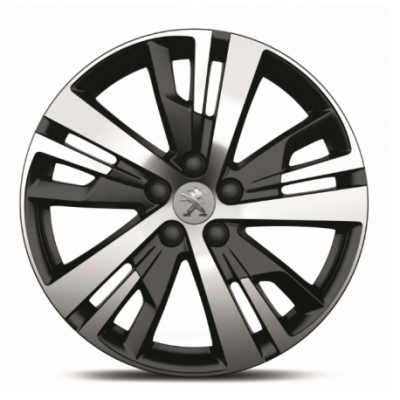 "Alloy wheel Peugeot DETROIT 18"" - New 3008 (P84), New 5008 (P87)"