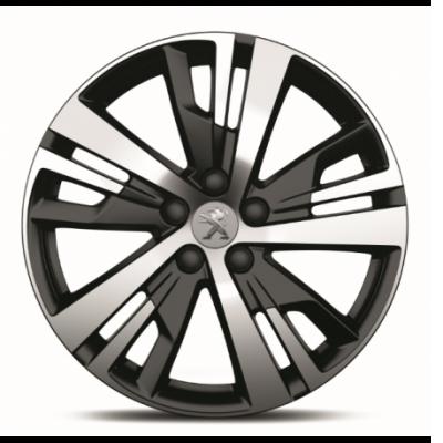 "Cerchio in lega Peugeot DETROIT 18"" - Nuova 3008 (P84), Nuova 5008 (P87)"