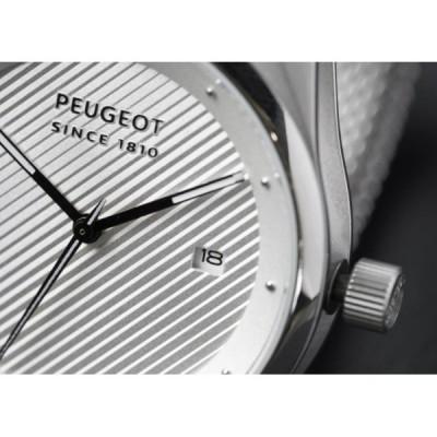 Hodinky Peugeot SINCE 1810 stříbrné