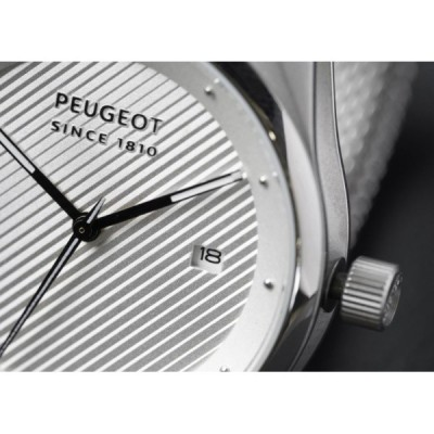 Watches Peugeot SINCE 1810 silver