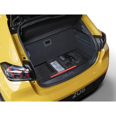 Odkladacia priehradka batožinového priestoru s vekom Peugeot 208 (P21), DS 3 Crossback, Opel Corsa