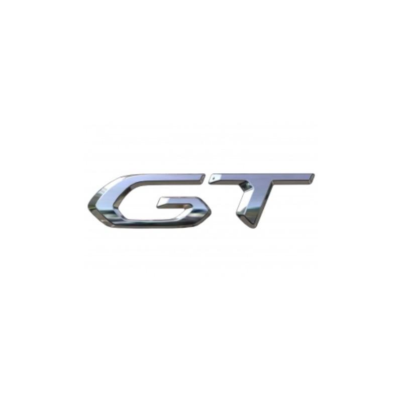 """Štítek """"GT"""" zadní část vozu Peugeot 208 (P21)"""