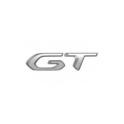 """Badge """"GT"""" right side of vehicle Peugeot 208 (P21)"""