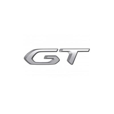 """Monograma """"GT"""" lado izquierdo Peugeot 208 (P21)"""