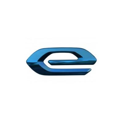 """Badge """"e"""" left side of vehicle Peugeot e-208 (P21)"""