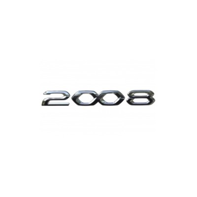 """Monogrammo """"2008"""" posteriore Peugeot 2008 (P24)"""