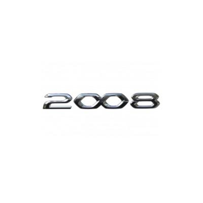 """Štítok """"2008"""" zadná časť vozidla Peugeot 2008 (P24)"""