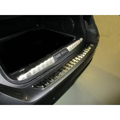 Protector de umbral de maletero inoxidable Peugeot 508 SW (R8)