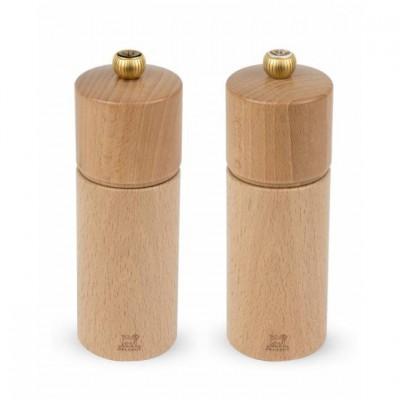 Peugeot Darčekový set mlynčekov CHATEL na korenie a soľ, prírodné 16 cm