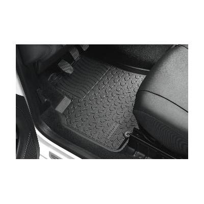 Set of front shaped rubber floor mats Peugeot Partner (B9)