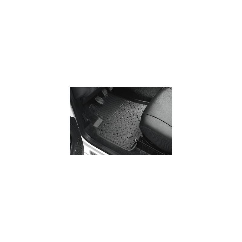 Serie di tappetini anteriori in gomma Peugeot Partner (B9)