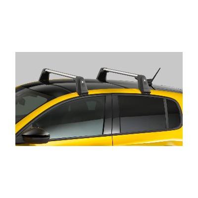 Serie di 2 barre del tetto trasversali Peugeot 208 (P21)