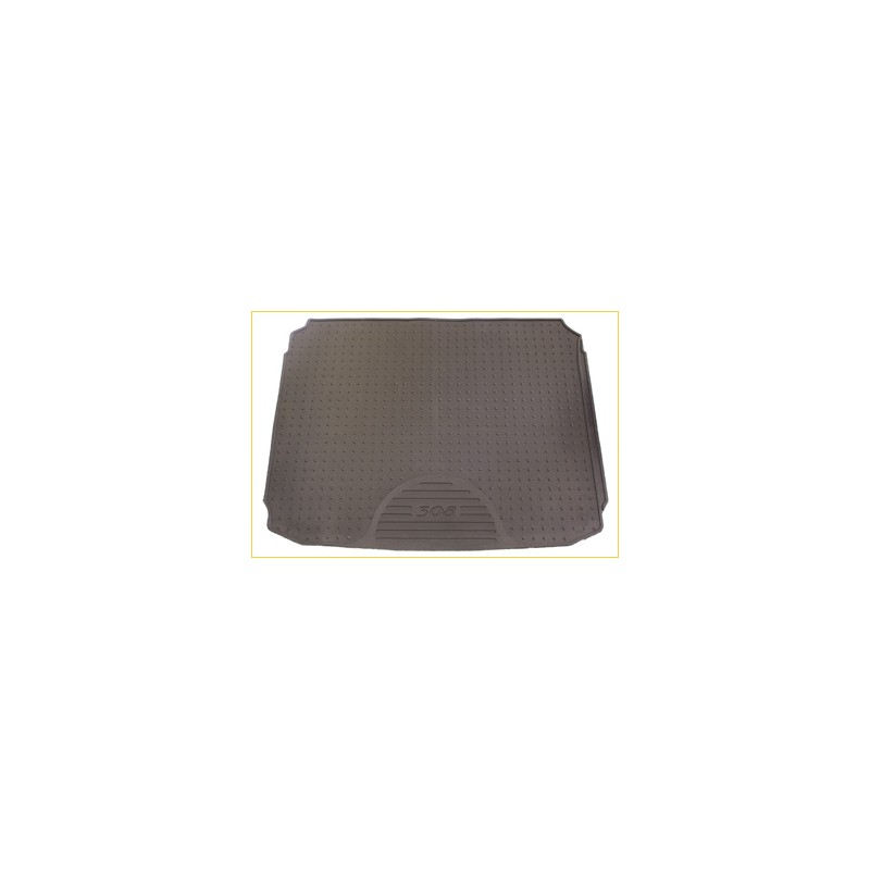 Tappeto per baule gomma Peugeot 308 SW