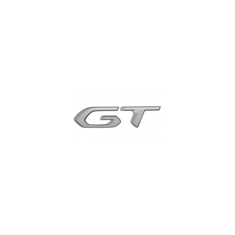 """Štítok """"GT"""" zadná časť vozidla ŠEDÝ Peugeot 3008 SUV (P84) 2020"""