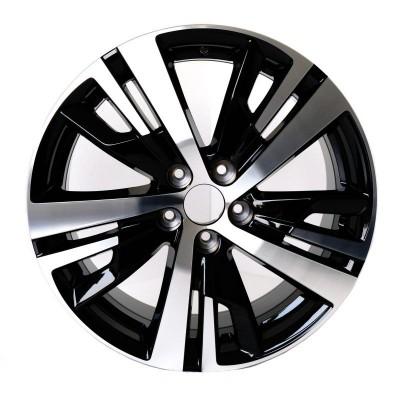 """Cerchio in lega DETROIT BLACK 18"""" Peugeot 3008 SUV (P84), 5008 SUV (P87)"""