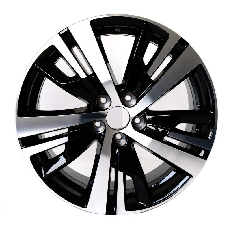 "Alu disk DETROIT BLACK 18"" Peugeot 3008 SUV (P84), 5008 SUV (P87)"