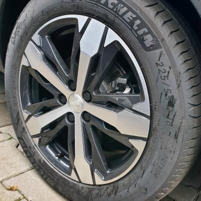 """Cerchio in lega Peugeot LOS ANGELES 18"""" - Nuova 3008 (P84), Nuova 5008 (P87)"""