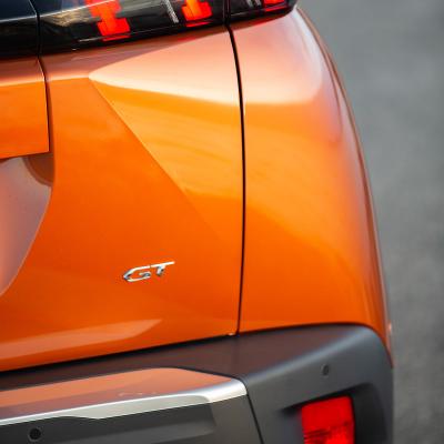 """Štítok """"GT"""" zadná časť vozidla Peugeot 2008 (P24)"""