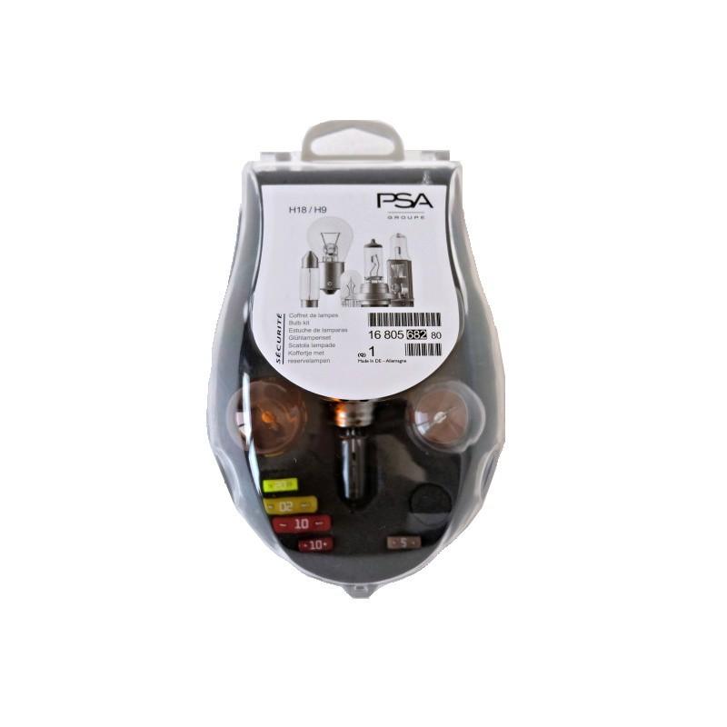 Set bulbs Peugeot H18 + H9