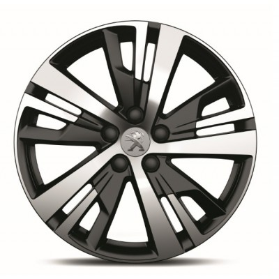 """Serie di 4 cerchi in lega Peugeot DETROIT 18"""" - 3008 SUV (P84), 5008 SUV (P87)"""