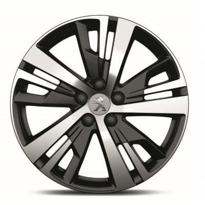 "Set of 4 alloy wheels Peugeot DETROIT 18"" - New 3008 (P84)"
