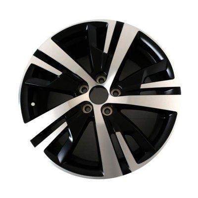 "Set of 4 alloy wheels Peugeot DETROIT 18"" - 3008 SUV (P84), 5008 SUV (P87)"