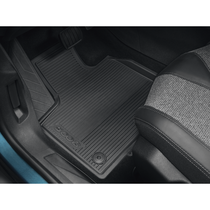 Serie di tappetini sagomati per volante a destra Peugeot 5008 SUV (P87)