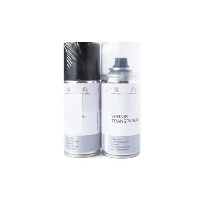 Paint retouch aerosol Peugeot, Citroën -BLACK PERLA NERA (KTV)