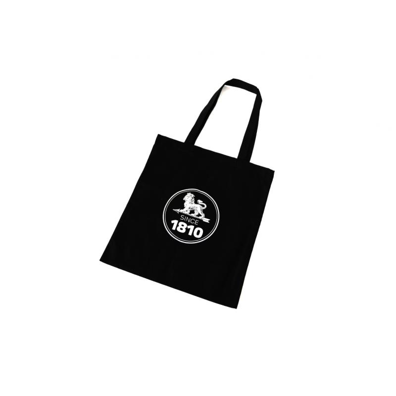 Bavlnená taška Peugeot SINCE 1810 - čierna