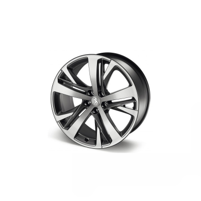 "Set of 4 alloy wheels Peugeot TECHNICAL GREY 19"" - RCZ"