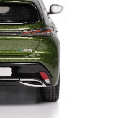 Model Peugeot 308 GT 2021 Green Olivine 1:43