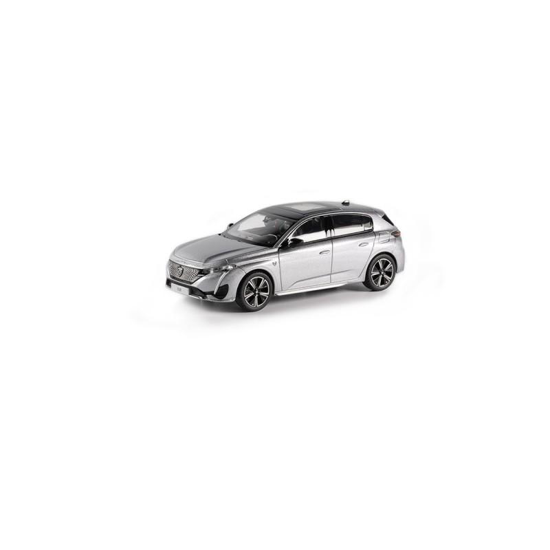 Model Peugeot 308 GT 2021 Grey Artense 1:43