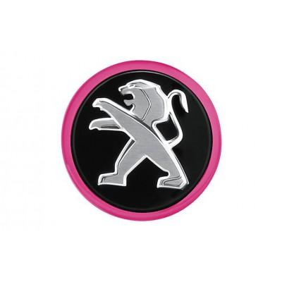 Středové krytky Peugeot - DOWNTOWN FLASH PINK