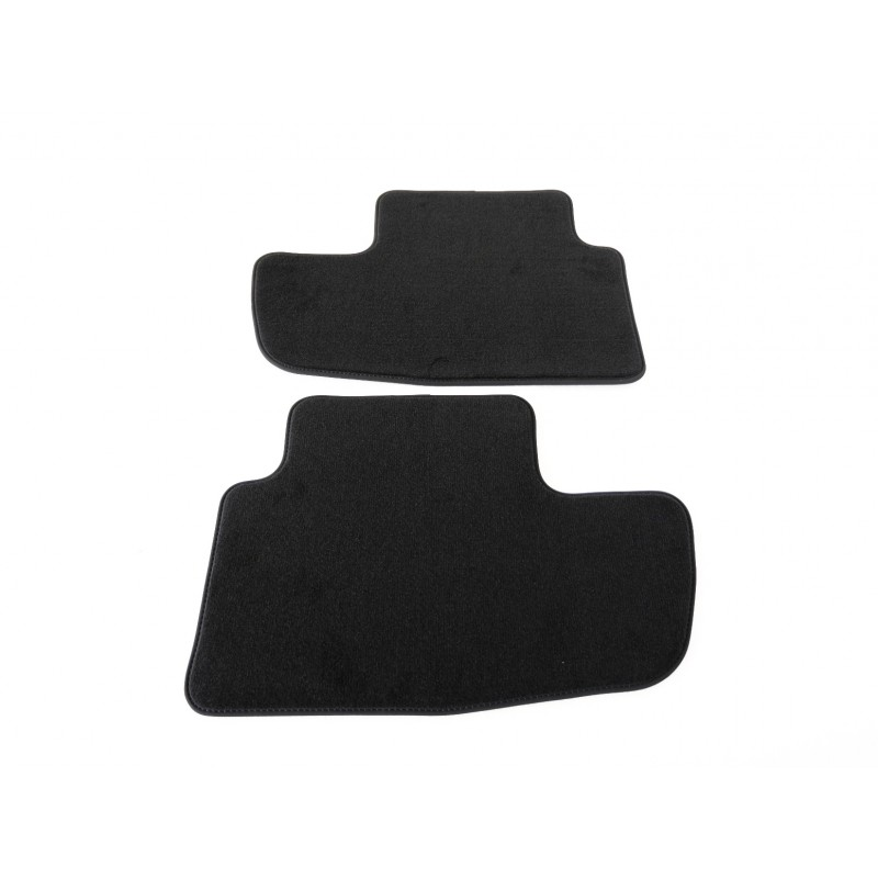 "Set of velour floor mats rear ""Premium"" Peugeot  RCZ"