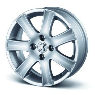 "Satz mit 4 Leichtmetallfelgen Peugeot SPA 16"" - 207, 301"